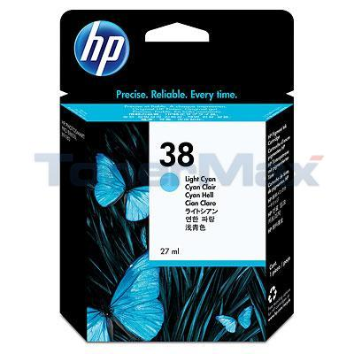 HP NO 38 VIVERA INK LIGHT CYAN